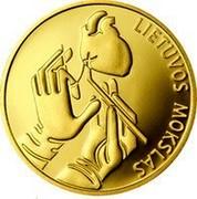 Lithuania 10 Litu Lithuanian Science 2012 Proof KM# 180 LIETUVOS MOKSLAS coin reverse