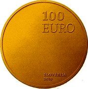 Slovenia 100 Euro 100th Anniversary of the accession of the Prekmurje region to Slovenia 2019 100 EURO SLOVENIJA 2019 coin obverse