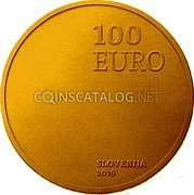 Slovenia 100 Euro (100th Anniversary of the accession of the Prekmurje region to Slovenia) 100 EURO SLOVENIJA 2019 coin obverse