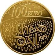 Ireland 100 Euro 100th Anniversary of the First Dail Eireann 2019 EIRE 2019 coin reverse