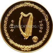 Ireland 100 Euro 2008 Proof KM# 57 Euro Coinage coin obverse