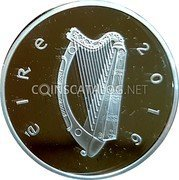 Ireland 15 Euro 2016 Proof KM# 90 Euro Coinage coin obverse