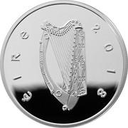 Ireland 15 Euro Dracula's Bram Stoker 2018 ÉIRE 2018 coin obverse