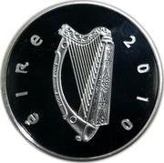 Ireland 15 Euro Horse 2010 Proof KM# 64 ÉIRE 2010 coin obverse