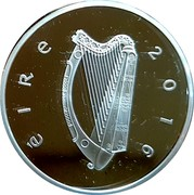 Ireland 15 Euro Proclamation of the Irish Republic 2016 Proof KM# 90 ÉIRE 2016 coin obverse