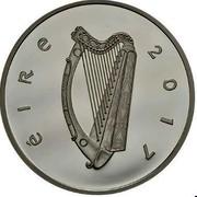 Ireland 15 euro Sir Charles Parsons 2017 ÉIRE 2017 coin obverse