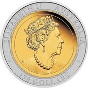 Australia 150 Dollars Australian Wedge-Tailed 2019 ELIZABETH II AUSTRALIA JC 150 DOLLARS coin obverse