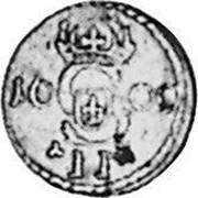 Lithuania 2 Denari 1609 KM# 8 Standard Coinage II coin obverse