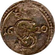 Lithuania 2 Denari KM# 15.1 Standard Coinage S II coin obverse