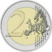 Lithuania 2 Euro 100th Anniversary of the Baltic States 2018 LMK KM# 235 2 EURO LL coin reverse