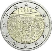 Ireland 2 Euro (100th Anniversary of the establishment of the Dail Eireann) 1919 AN CHÉAD DÁIL ÉIRE 2019 coin obverse