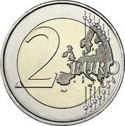 Ireland 2 Euro (100th Anniversary of the establishment of the Dail Eireann) 2 EURO LL coin reverse