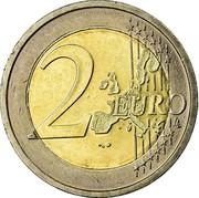 Ireland 2 Euro 1st map 2006 KM# 39 2 EURO LL coin reverse