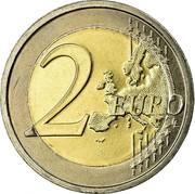 Ireland 2 Euro 2nd map 2008 KM# 51 2 EURO LL coin reverse