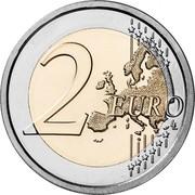 Lithuania 2 Euro Aukstaitija 2020 2 EURO LL coin reverse