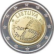 Lithuania 2 Euro Baltic Culture 2016 KM# 221 LIETUVA 2016 LMK coin obverse