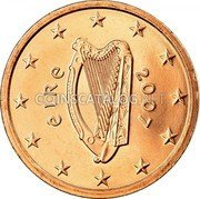 Ireland 2 Euro Cent 2007 Proof KM# 33 Euro Coinage coin obverse