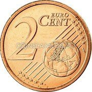 Ireland 2 Euro Cent 2007 Proof KM# 33 Euro Coinage coin reverse