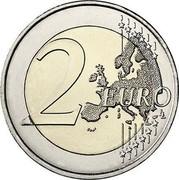 Ireland 2 Euro Easter Rising 2016 KM# 88 2 EURO LL coin reverse
