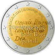 Slovenia 2 Euro (Every tongue confess) 2 EURO LL coin reverse