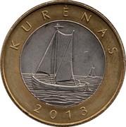 Lithuania 2 Litai Kurenas 2013 KM# 188 KURĖNAS 2013 coin reverse