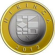 Lithuania 2 Litai Neringa 2012 KM# 185.1 NERINGA 2012 coin reverse