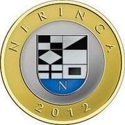 Lithuania 2 Litai Neringa 2012 Proof KM# 185.2 NERINGA 2012 coin reverse