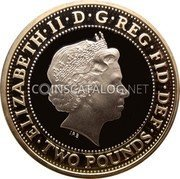 UK 2 Pounds (100th anniversary of the First World War) ELIZABETH·II·DEI·GRA·REG·FID·DEF IRB ·TWO POUNDS· coin obverse