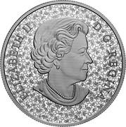 Canada 20 Dollars Forget-Me-Not. Newfoundland soldiers 2019 ELIZABETH II D • G • REGINA coin obverse