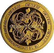 Ireland 20 Euro 2007 Proof KM# 59 Euro Coinage coin reverse