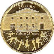 Ireland 20 Euro 2010 Proof KM# 66 Euro Coinage coin reverse