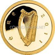 Ireland 20 Euro 2011 Proof KM# 69 Euro Coinage coin obverse
