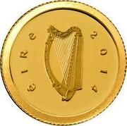 Ireland 20 Euro Battle of Clontarf 2014 Proof KM# 82 ÉIRE 2014 coin obverse