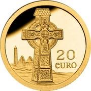 Ireland 20 Euro Celtic Cross 2011 Proof KM# 69 20 EURO coin reverse