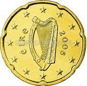 Ireland 20 Euro Cent 2006 Proof KM# 36 Euro Coinage coin obverse