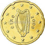 Ireland 20 Euro Cent 2009 Proof KM# 48 Euro Coinage coin obverse