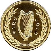 Ireland 20 Euro Gaisce 2010 Proof KM# 66 ÉIRE 2010 coin obverse