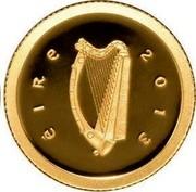 Ireland 20 Euro Medieval Irish Architecture 2013 Proof KM# 76 ÉIRE 2013 coin obverse