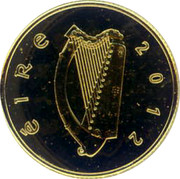 Ireland 20 Euro Michael Collins 2012 Proof KM# 74 ÉIRE 2012 coin obverse