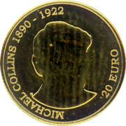 Ireland 20 Euro Michael Collins 2012 Proof KM# 74 MICHAEL COLLINS 1890 - 1922 20 EURO coin reverse