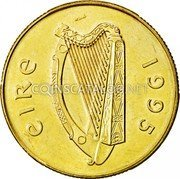 Ireland 20 Pence 1995 KM# 25 Decimal Coinage coin obverse
