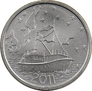 Finland 20 € Protecting The Baltic Sea 2011 Proof KM# 169a 2011 coin reverse