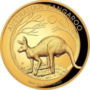 Australia 200 Dollars Kangaroo Gold Bullion 2019 AUSTRALIAN KANGAROO P 2019 2OZ 9999 GOLD coin reverse