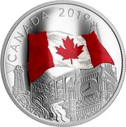 Canada 30 Dollars The Fabric of Canada 2019 CANADA 2019 coin reverse