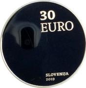 Slovenia 30 Euro Rejoining of Prekmurje Region 2019 30 EURO SLOVENIJA 2019 coin obverse