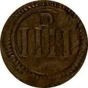 Ireland 4 Pence (1643-1644) Varieties exist KM# 58 Ormonde Money coin reverse