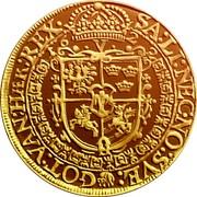 Lithuania 5 Ducats 1622 KM# 27 Trade Coinage SA:LI:NEC.NO:SVE:GOT:VAN:HAER:REX coin reverse