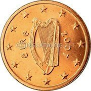 Ireland 5 Euro Cent 2007 Proof KM# 34 Euro Coinage coin obverse