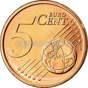 Ireland 5 Euro Cent 2007 Proof KM# 34 Euro Coinage coin reverse
