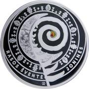 Lithuania 5 Euro Jonines (Rasos) 2018 LMK Proof KM# 236 RASOS ŠVENTĖ JONINĖS ER coin reverse